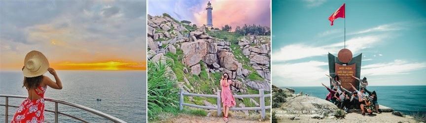 tour hải đăng mũi điện phú yên