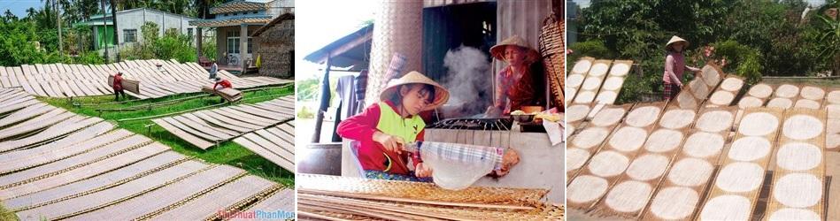 làng nghề bánh tráng hòa đa - tour làng nghề phú yên 1 ngày