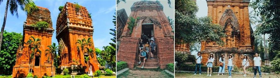 Tháp Đôi Quy Nhơn - phuyentourist